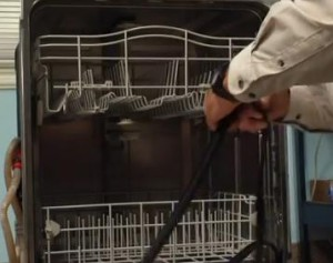 GE dishwasher door seal repair